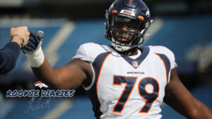 Lloyd Cushenberry III reflects on Year 1 in Denver