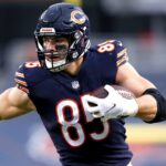 Chicago Bears TE Cole Kmet grew into an expanded...