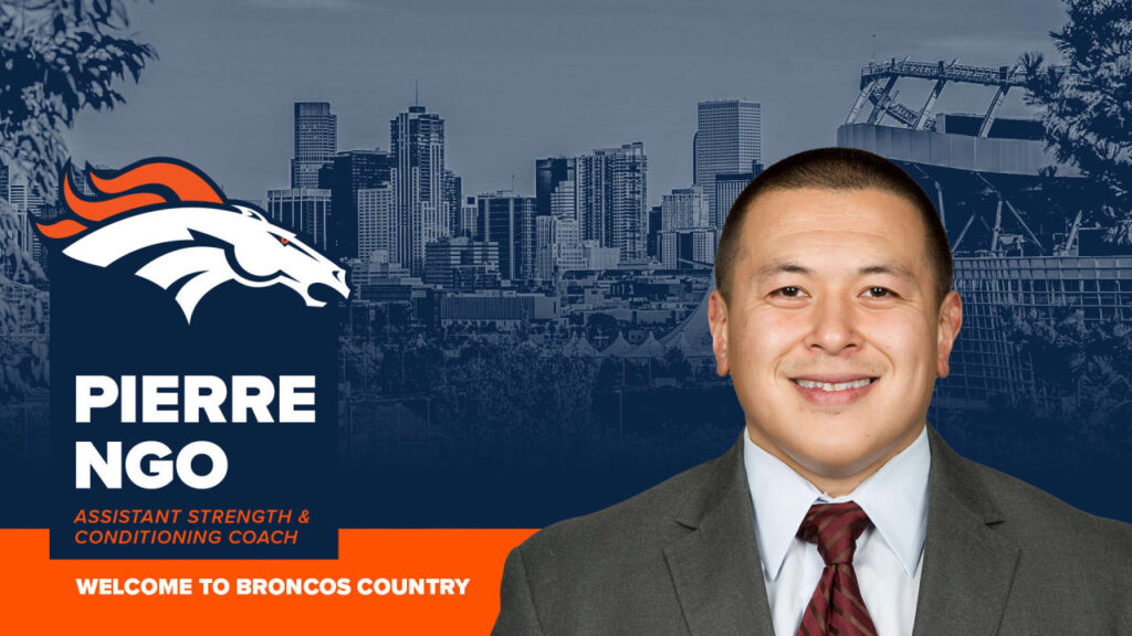 Broncos hire Pierre Ngo as Assistant Strength and...