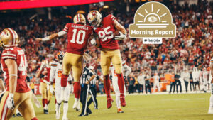 George Kittle Says 49ers Can 'Win' with Jimmy G,...