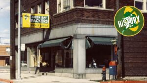 Downtown Green Bay was the Packers' original...