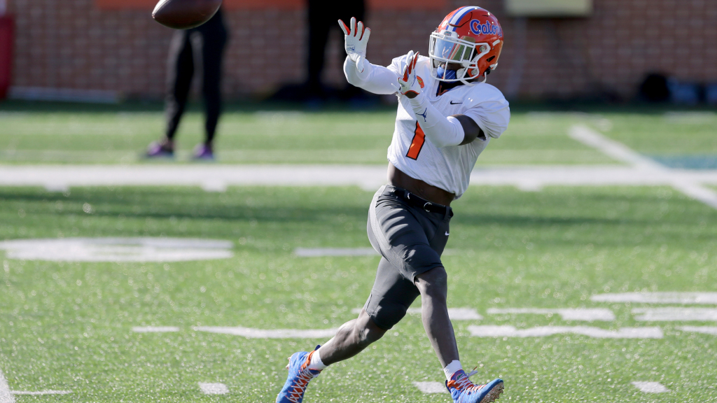 Eagles held a pre-draft meeting with Florida WR...