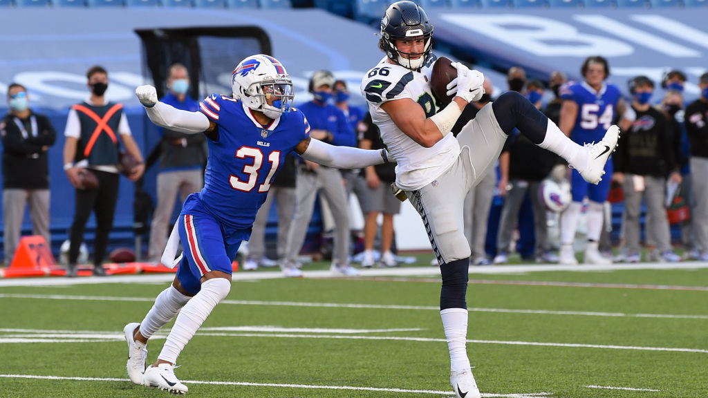 Bills signing former Seahawks tight end Jacob...