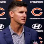 Chicago Bears, general manager Ryan Pace prepping...