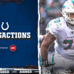 Colts sign tackle Julien Davenport and re-sign...