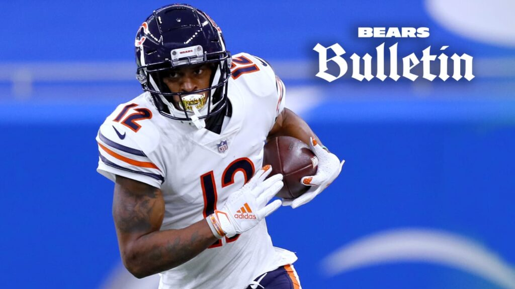 Chicago Bears place franchise tag on WR Allen...