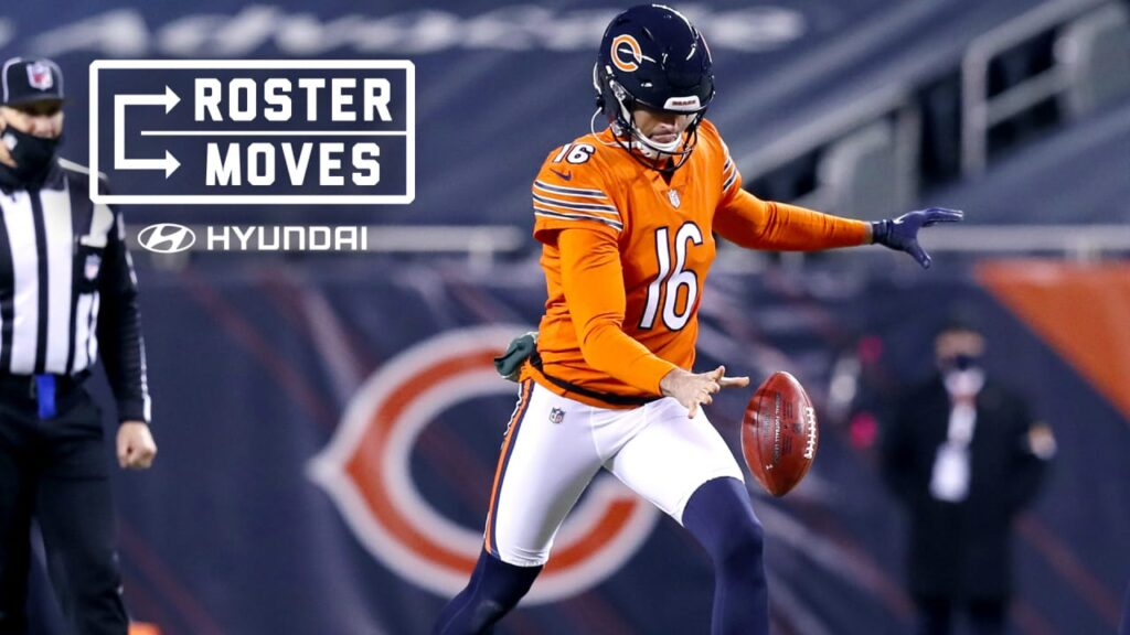 P Pat O'Donnell agrees to terms with Chicago Bears...