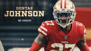 49ers Re-Sign CB Dontae Johnson