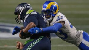 Free agency could cause Rams' Raheem Morris to...