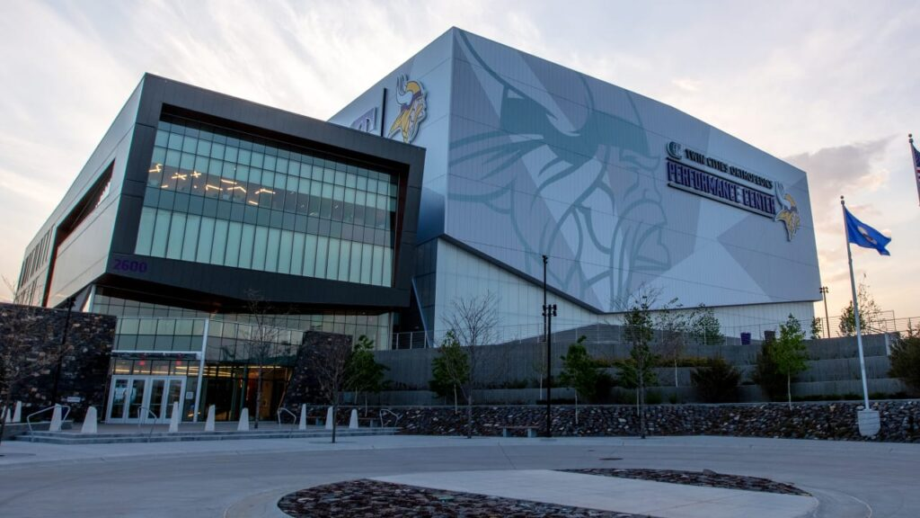 Vikings Host Vaccination Site at TCO Performance...