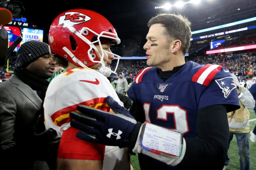 Tom Brady and Patrick Mahomes get in troll war...