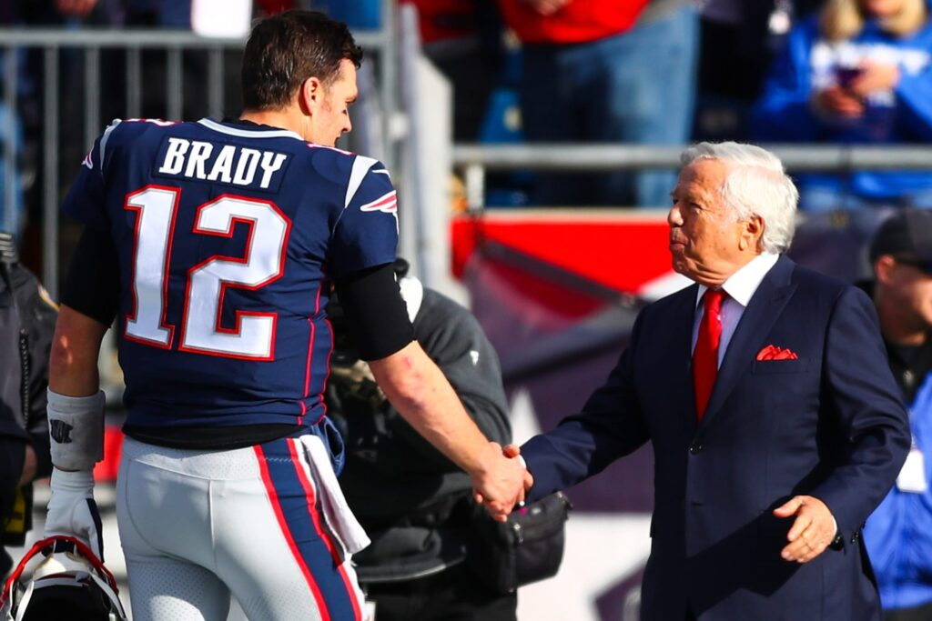 What to make of Robert Kraft's comments on Tom...