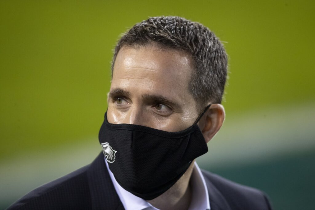Eagles 'up to something' with 12th overall pick,...
