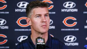 General manager Ryan Pace discusses QB Andy...