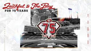 49ers Celebrate 75th Anniversary Season