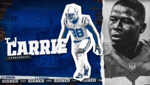 Colts Re-Sign CB T.J. Carrie