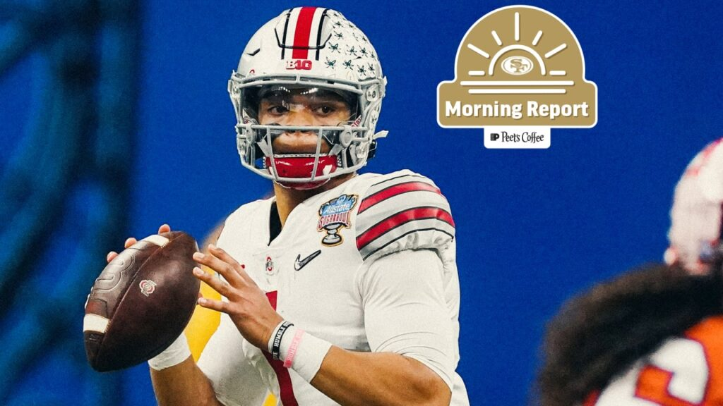 Analysts Predict All QBs in Latest 49ers Mock...