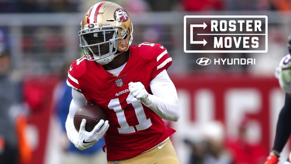 Chicago Bears sign former 49ers, Bills WR Marquise...