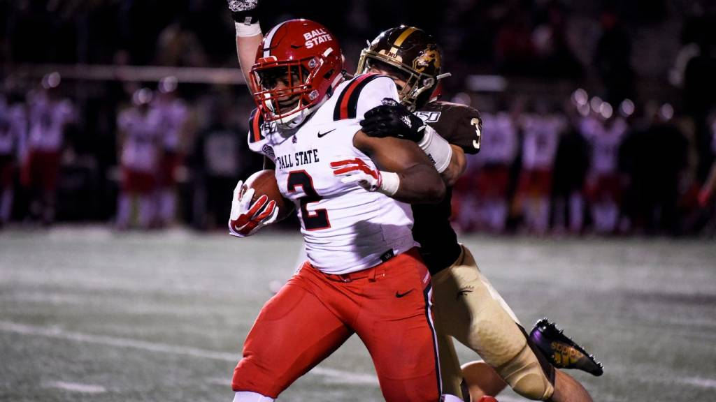 Meet Caleb Huntley, Ball State's bruising RB...