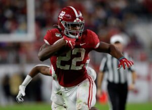 Najee Harris has his welcome to the NFL moment at...