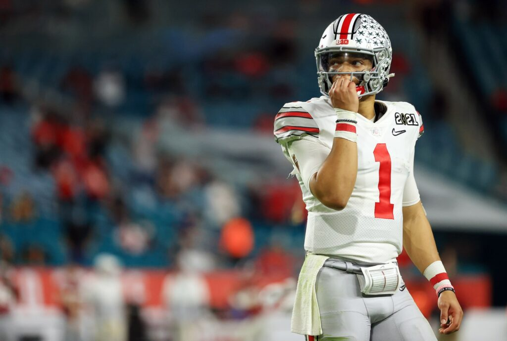 Vikings didn't trade up for Justin Fields due to...