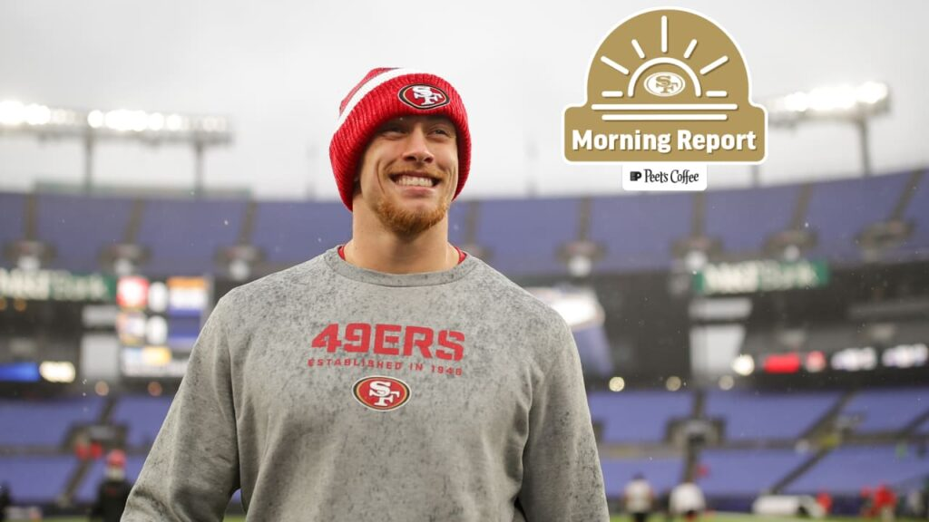 Morning Report: George Kittle Lands in Top 5 of...