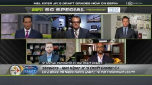 Watch: Mostly Poor Reviews For Steelers From ESPN...