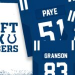 Jersey Numbers Announced For Kwity Paye, Sam...