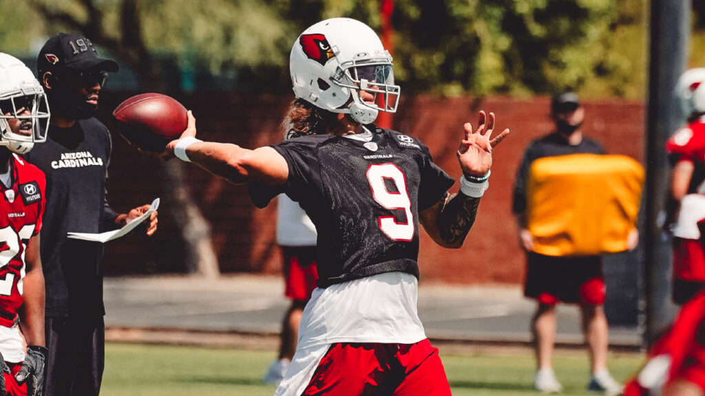 Cardinals Down To Three Quarterbacks With Release...