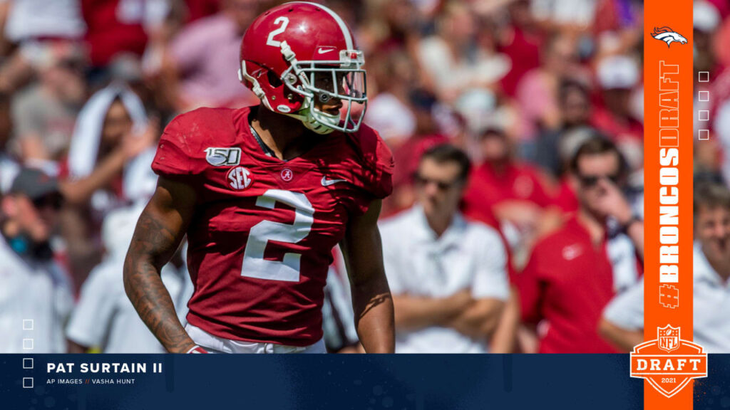 How first-round pick Pat Surtain II fits with the...