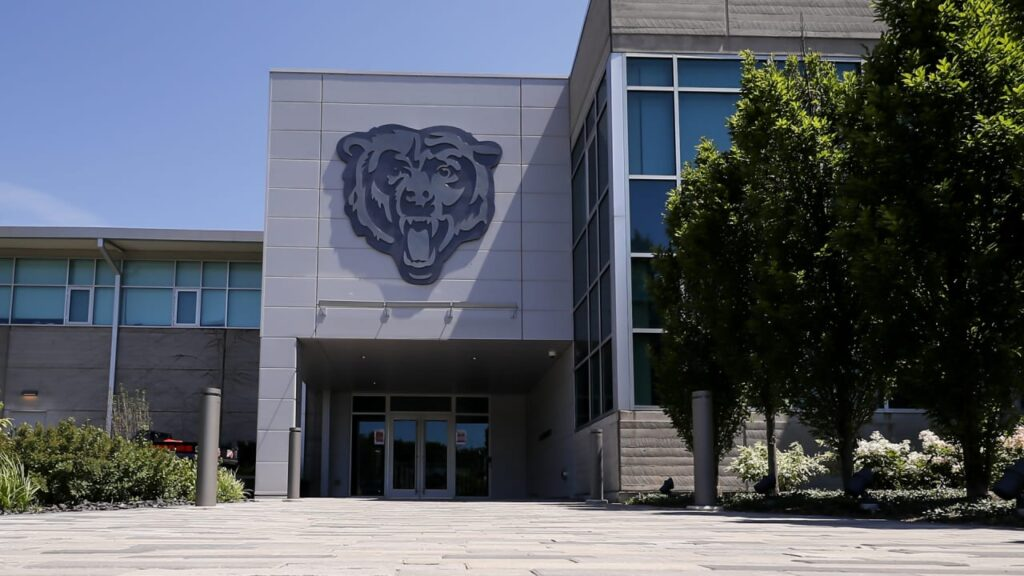 Chicago Bears beginning 2021 rookie minicamp at...