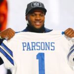 Cowboys rookie Micah Parsons hitting the ground --...