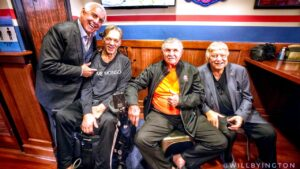 Emotional fundraiser held to support Chicago Bears...