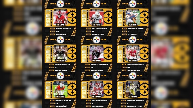 Steelers 2021 Re-Draft Exercise - Steelers Depot