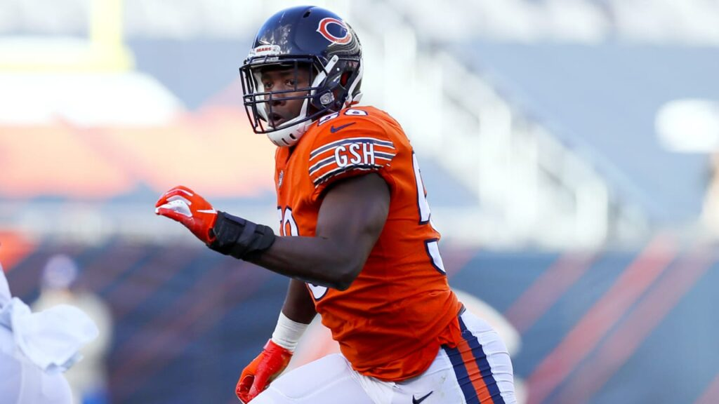 Chicago Bears exercise fifth-year contract option...