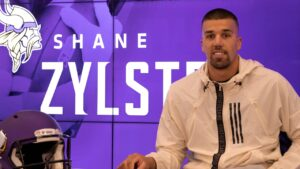 Shane Zylstra 'Blessed' & Excited to Join Vikings...