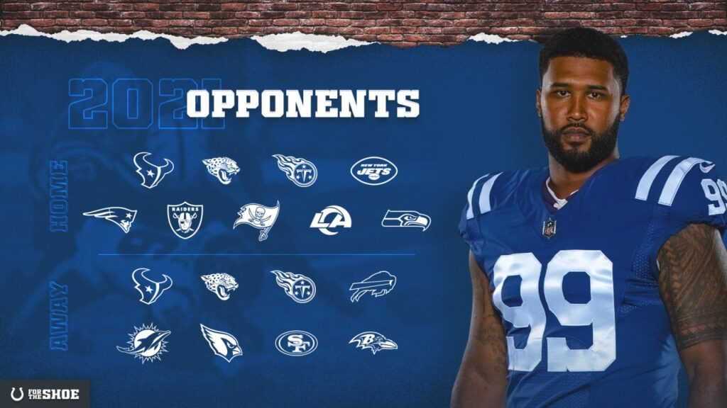 Colts' 2021 Schedule To Be Released May 12