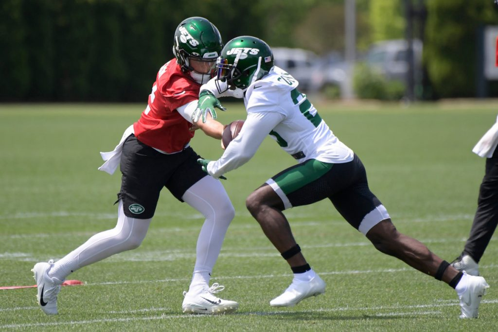 Tevin Coleman out to prove he can lead Jets...