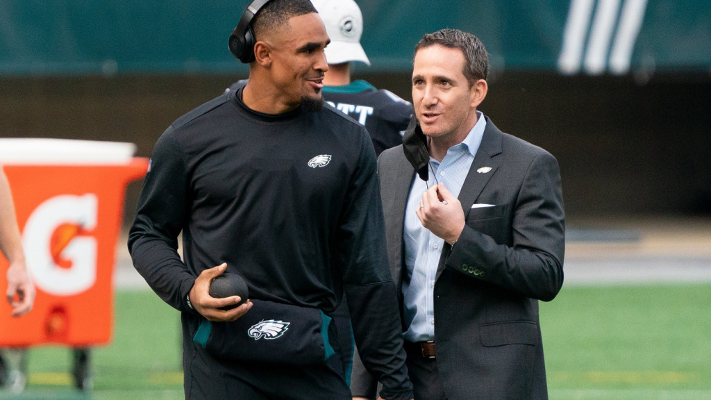 Eagles are No. 29 in a PFF three-year salary cap a...