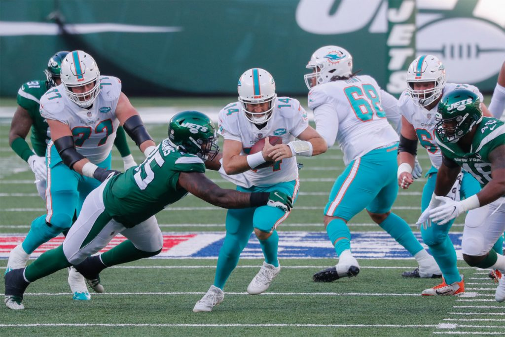 Quinnen Williams ready to become dominant for Jets