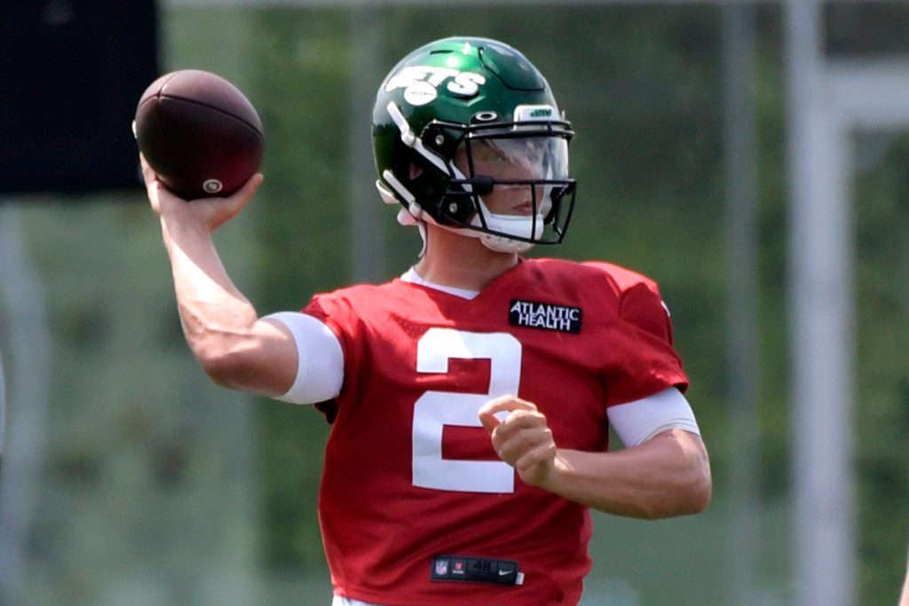 Zach Wilson isn't only Jets rookie putting on a...