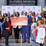 Chicago Bears celebrate Juneteenth at DuSable...
