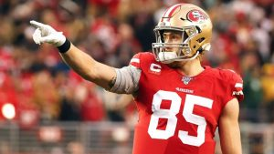 San Francisco 49ers' George Kittle says tight ends...