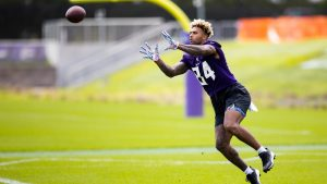 Smith, Jr., Picked as Potential Vikings 2021...