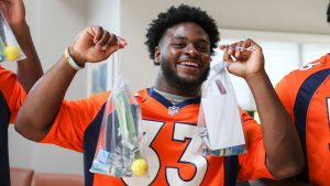 Broncos rookies begin shaping their bond with the...