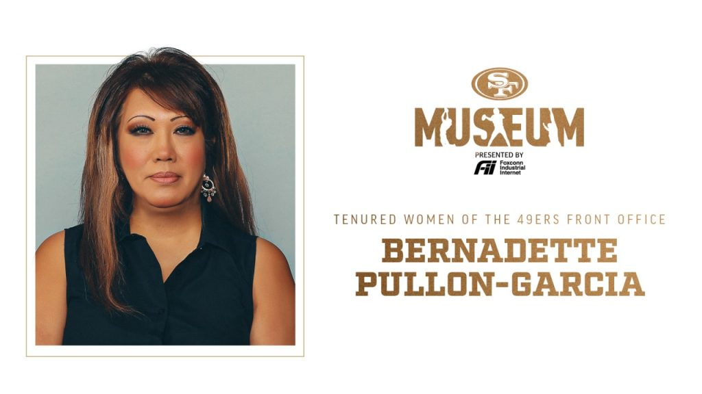 Tenured Women of the 49ers Front Office:...