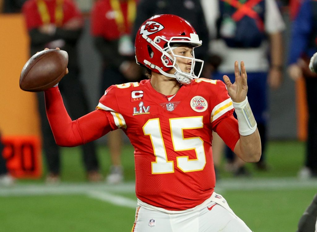 Patrick Mahomes looks in MVP form at start of...