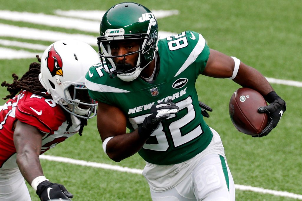 Jamison Crowder faces fight for Jets snaps with...