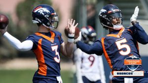 Drew Lock to take first snap in QB competition,...