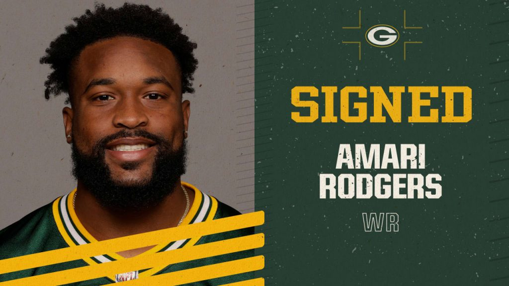 Packers sign WR Amari Rodgers